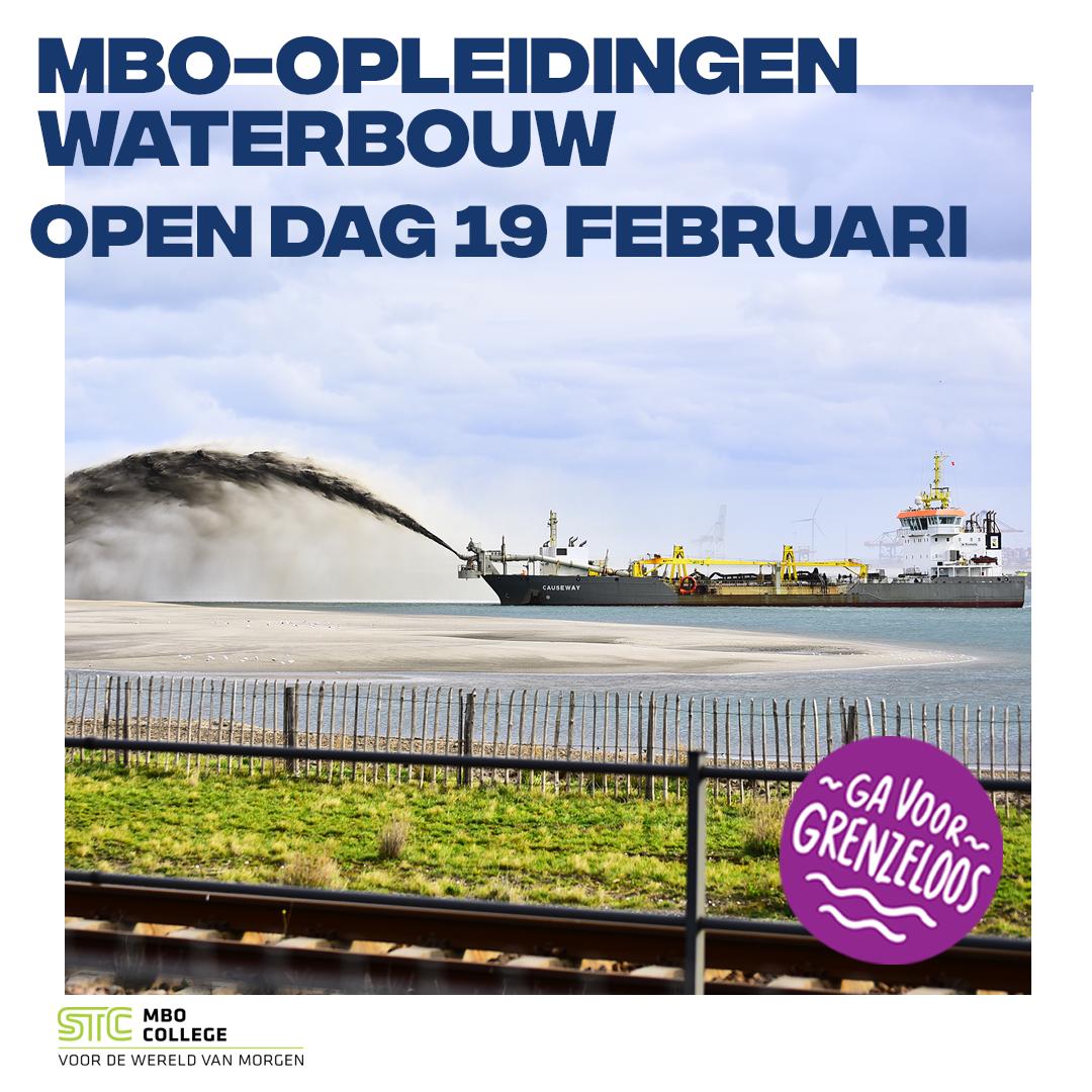 Waterbouw mbo-opleidingen | STC mbo college Rotterdam