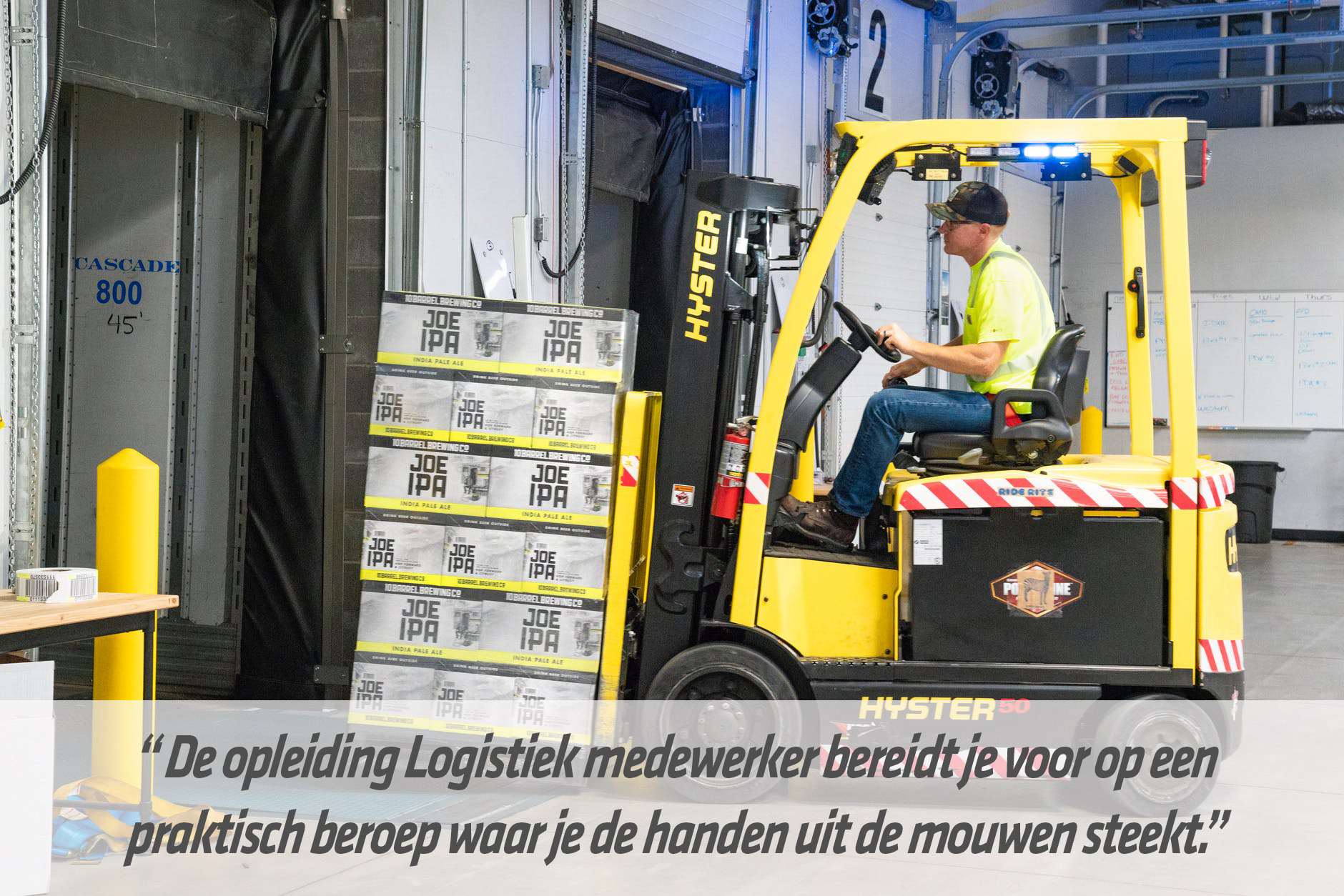 Mbo-opleiding logistiek medewerker | STC mbo college Rotterdam