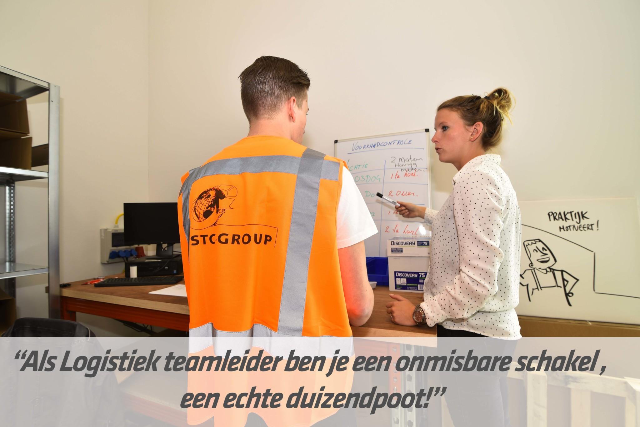 mbo-opleiding logistiek teamleider | STC mbo college Rotterdam
