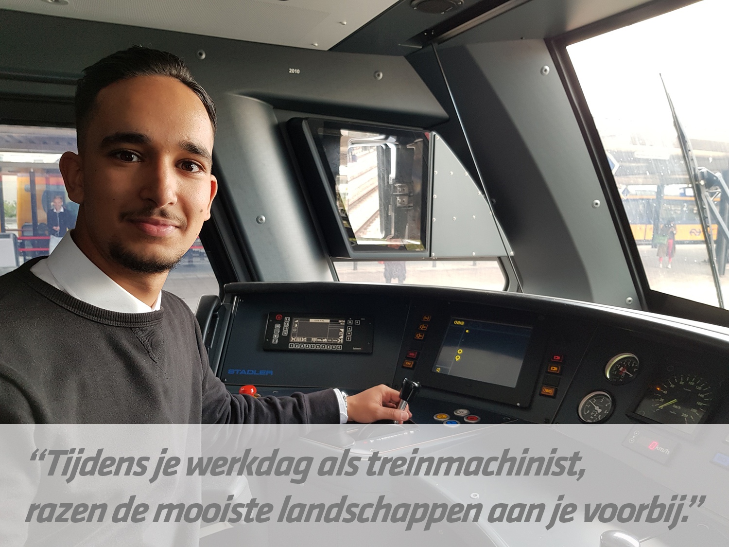 mbo-opleiding Treinmachinist | STC mbo college Rotterdam