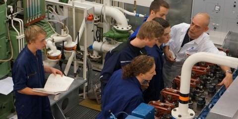 Schipper machinist beperkt werkgebied STC mbo college