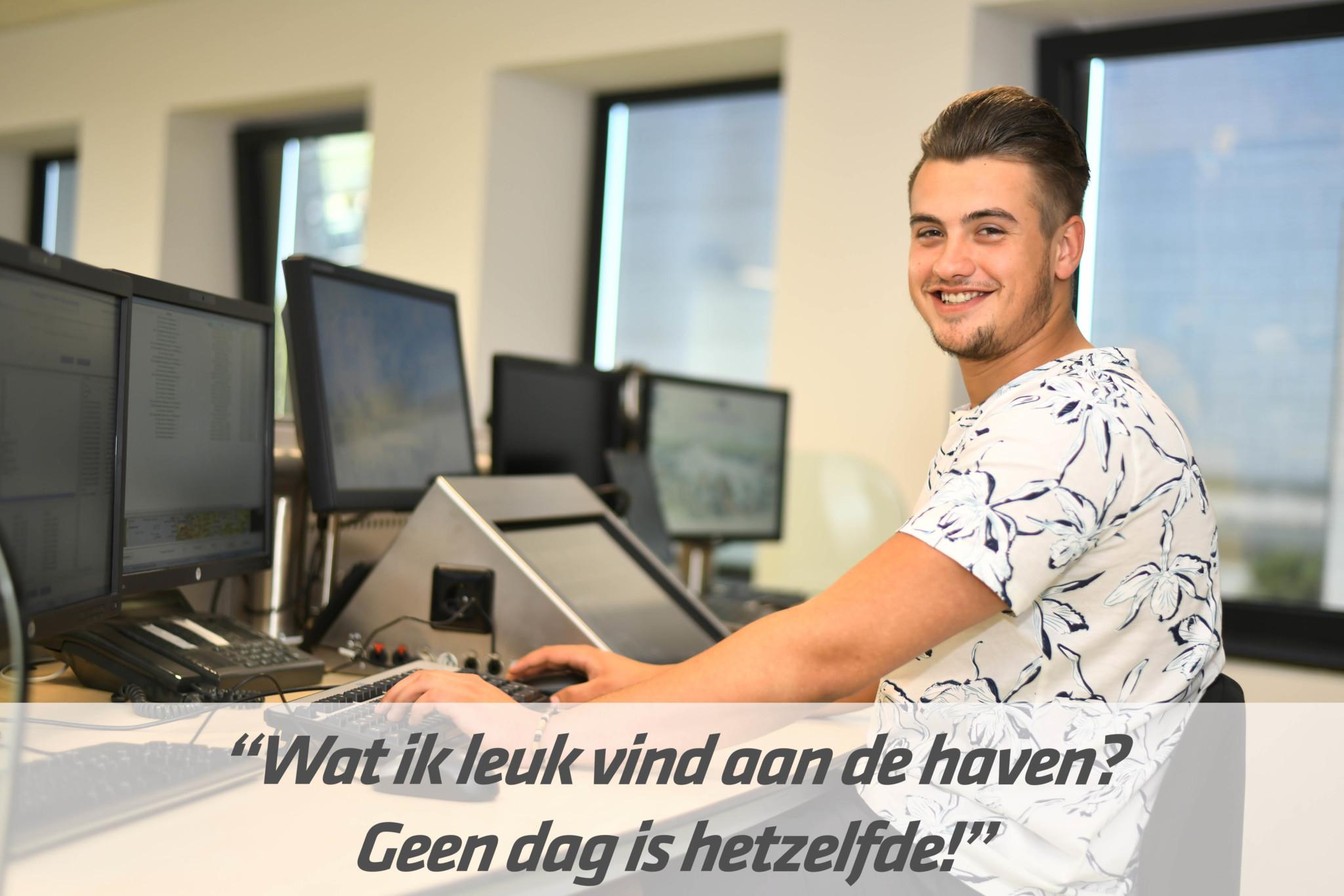 Mbo-opleiding medewerker havenlogistiek | STC mbo college Rotterdam