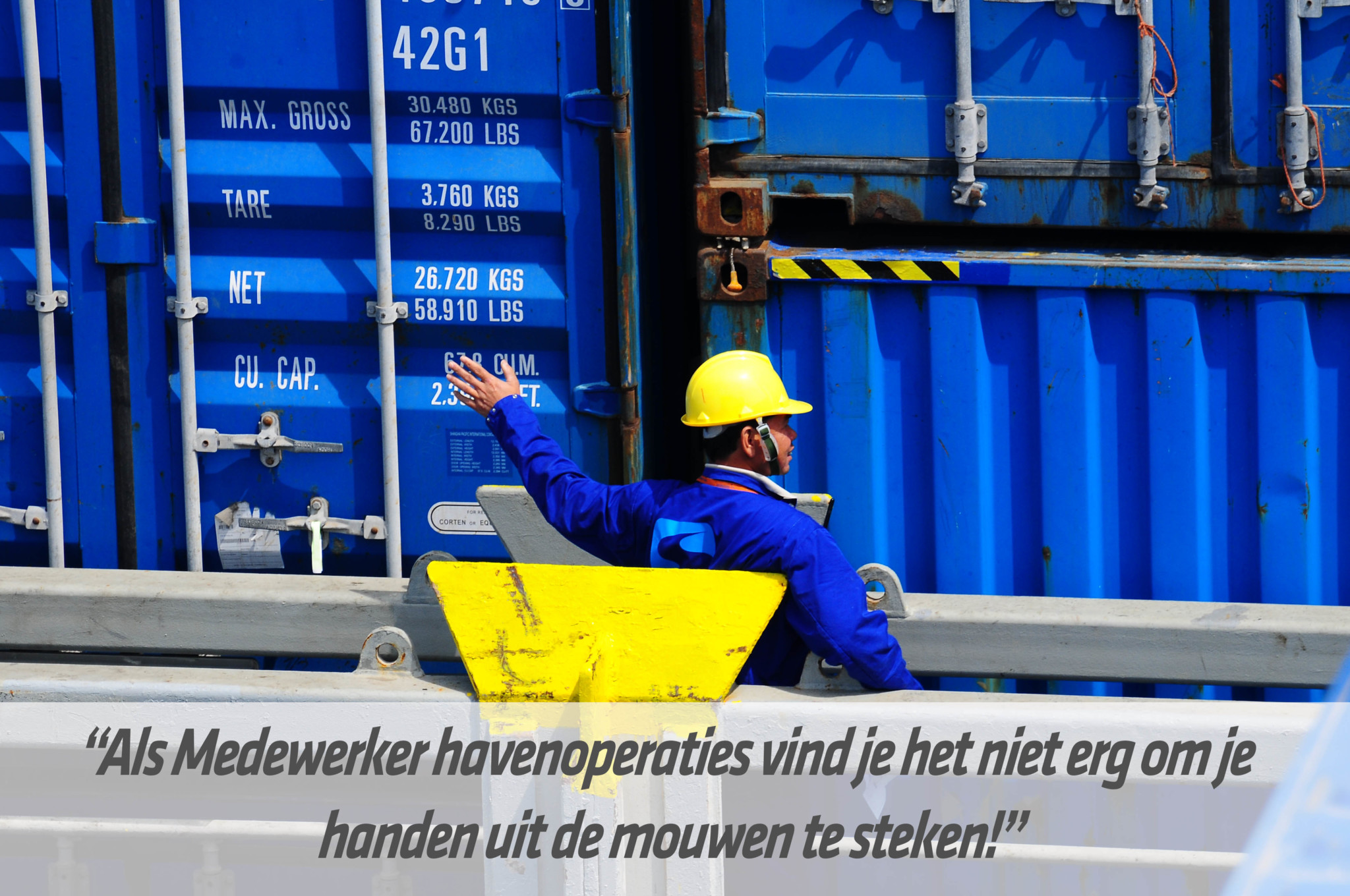 Mbo-opleiding medewerker havenoperaties | STC mbo college Rotterdam