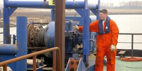 Stuurman waterbouw STC mbo college