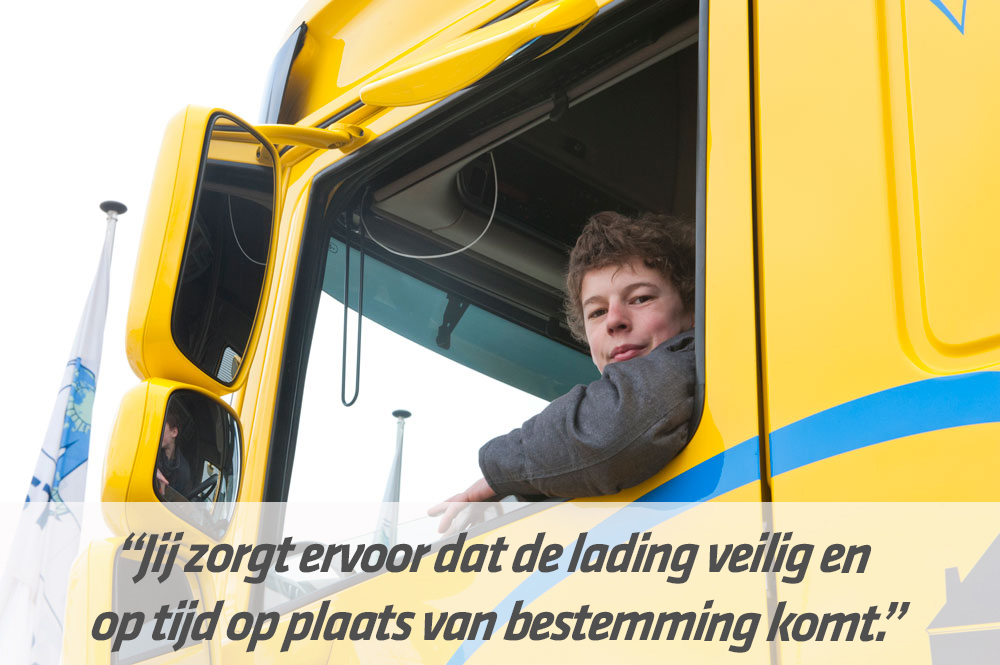 Mbo-opleiding Vrachtwagenchauffeur | STC mbo college Rotterdam