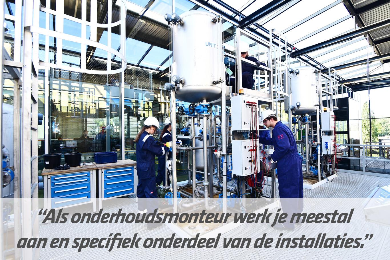 mbo-opleiding Medewerker operationele techniek - maintenance | STC mbo college Rotterdam