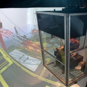 Offshore kraan simulator