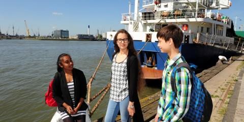 VMBO vakrichting Rijn-, kust- en binnenvaart - STC vmbo college Rotterdam
