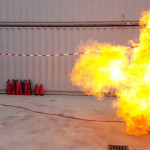 Spectaculaire opening Fire Safety Training Centre