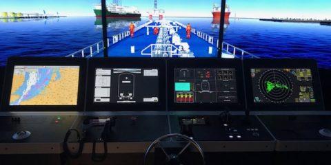 Impressie simulatorcentrum