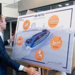 Conceptueel ontwerp nieuwe opleidingsschip STC onthuld door wethouder