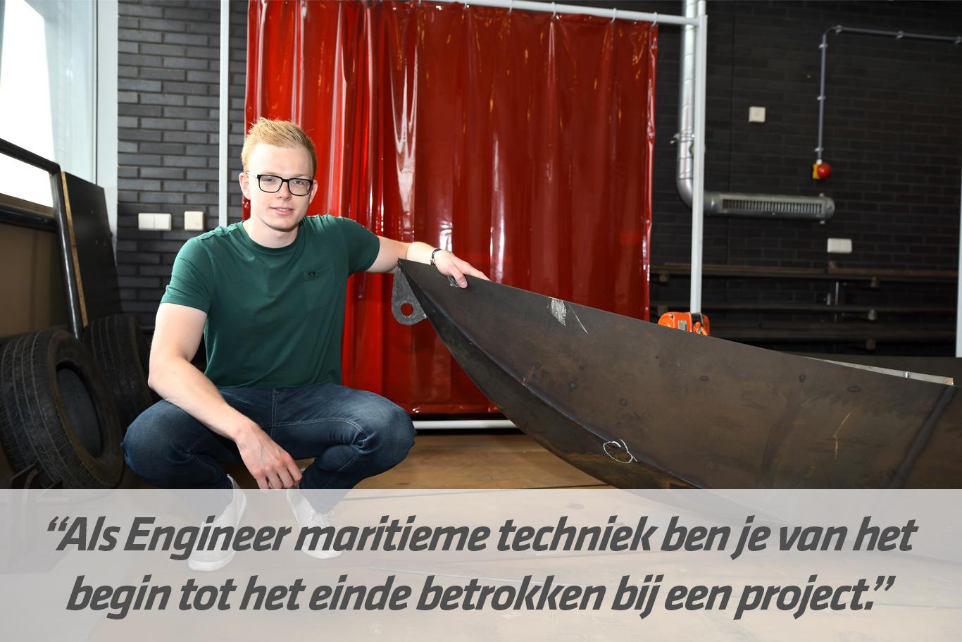 Mbo-opleiding Engineer maritieme techniek | STC mbo college Rotterdam