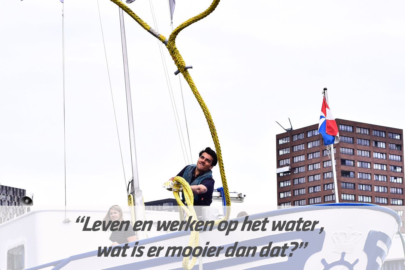 Mbo-opleiding Matroos binnenvaart | STC mbo college Rotterdam
