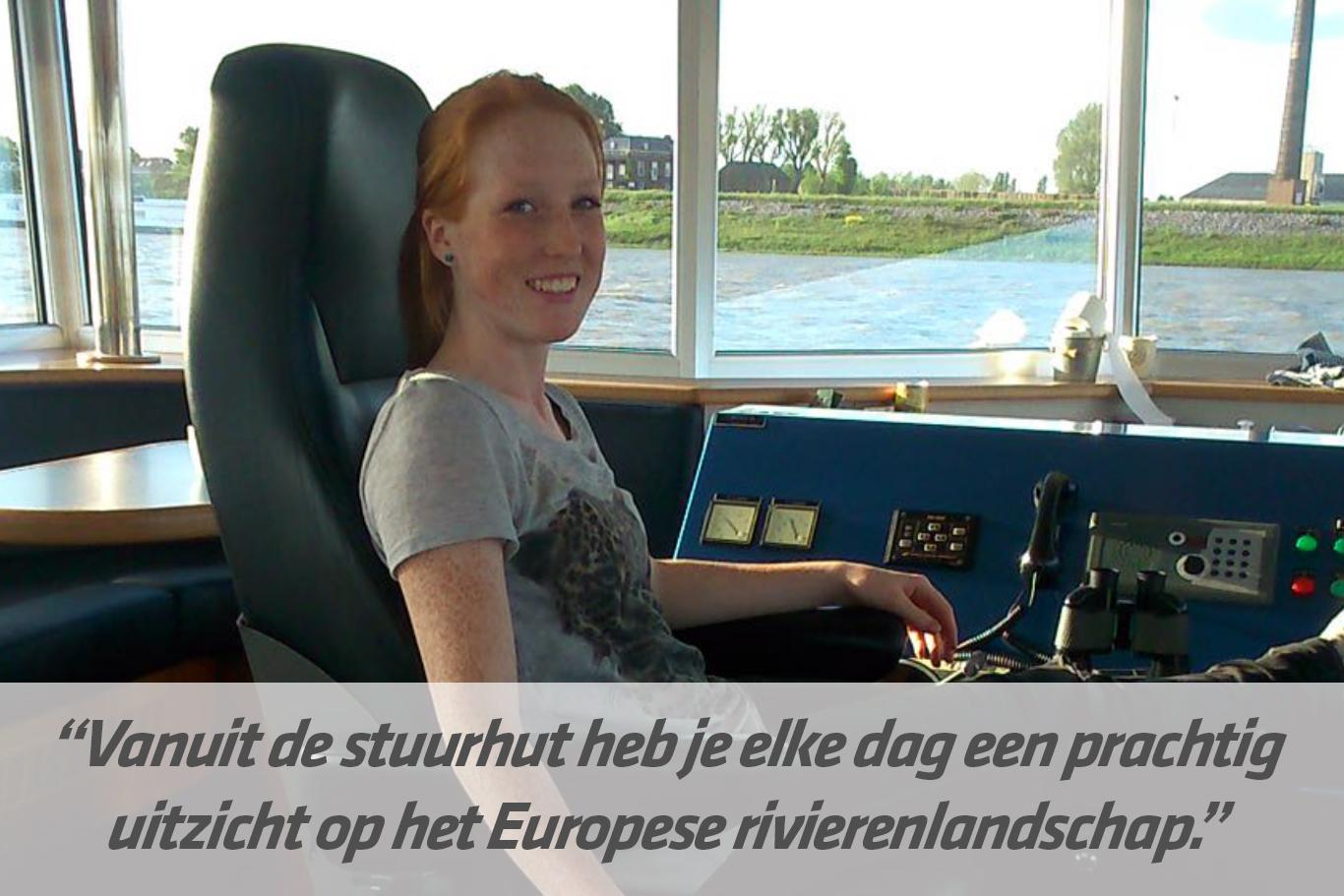 Mbo-opleiding Schipper binnenvaart | STC mbo college Rotterdam
