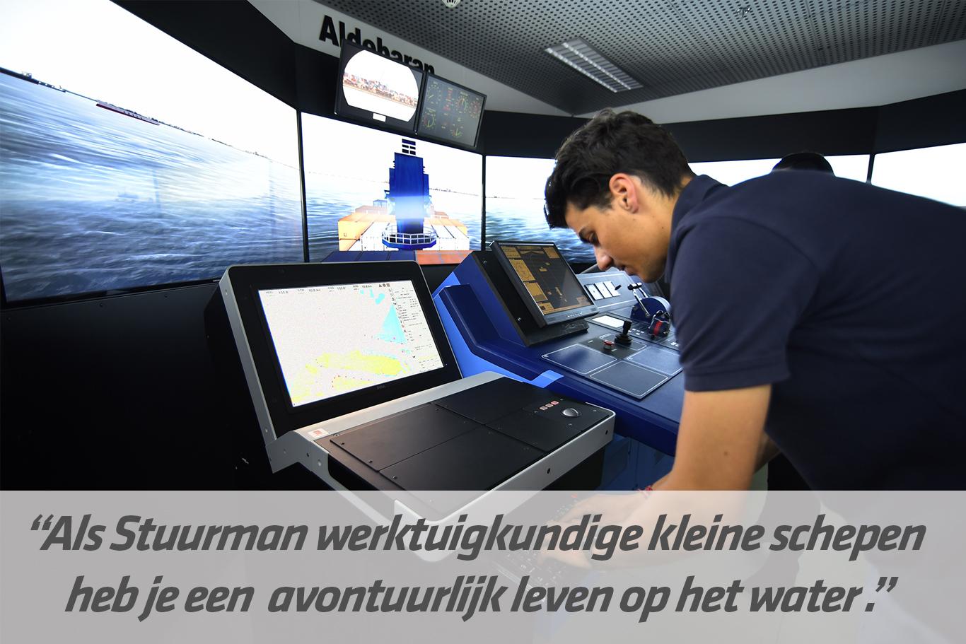 Mbo-opleiding Stuurman werktuigkundige kleine schepen / SWKS | STC mbo college