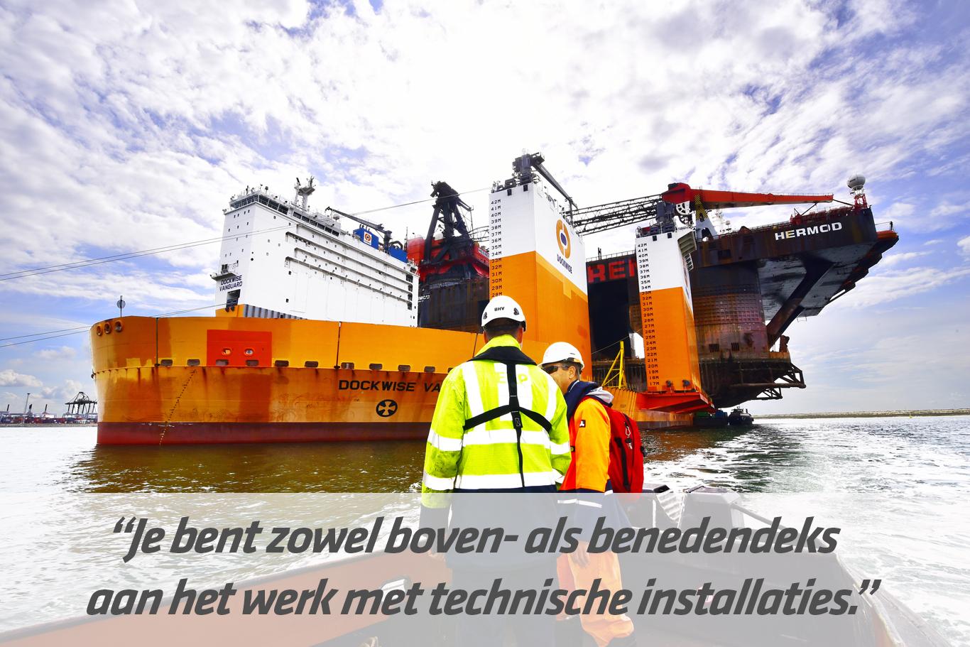 Mbo-opleiding Maritiem waterbouwer / scheepswerktuigkundige waterbouw | STC mbo college Rotterdam