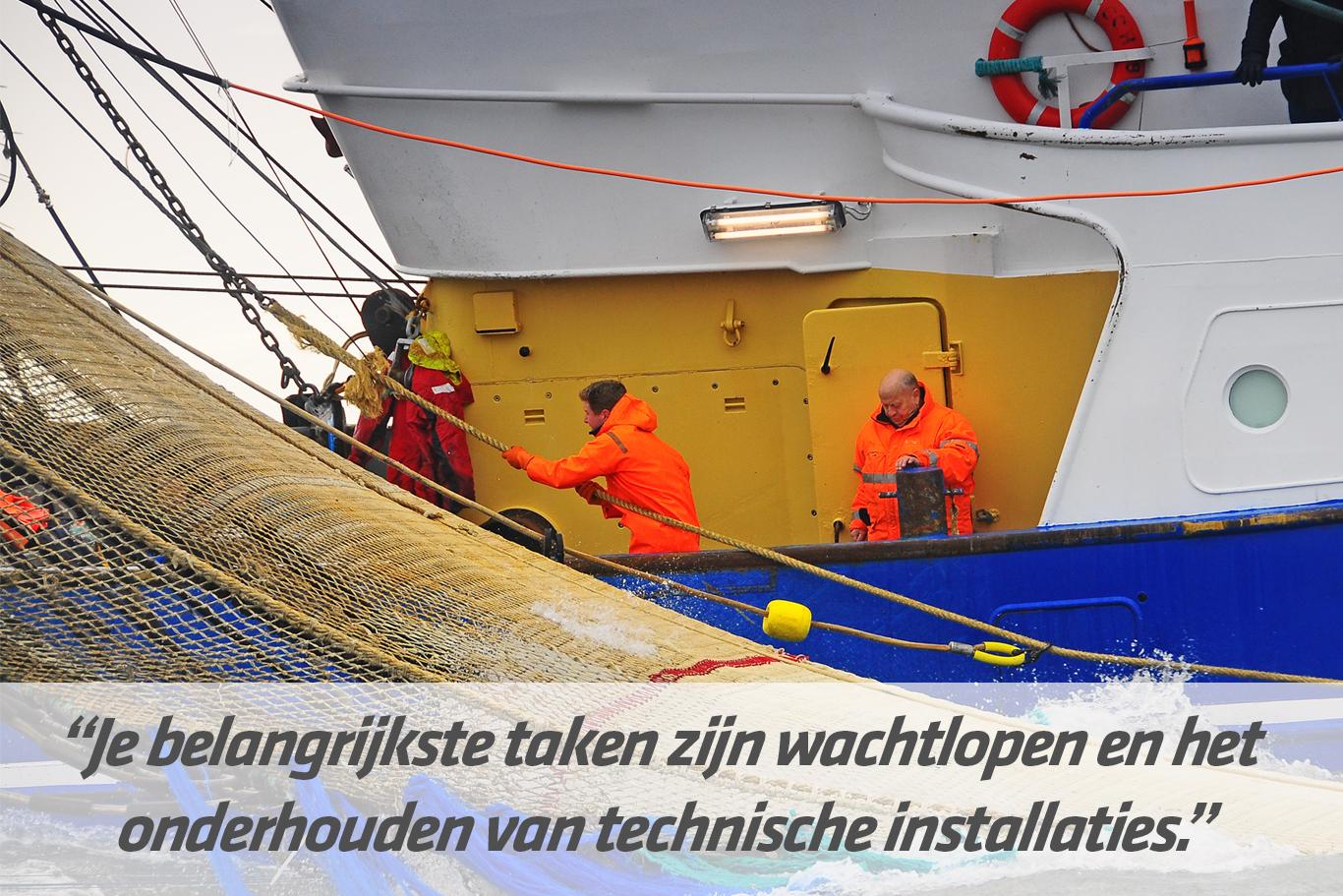 Mbo-opleiding Stuurman werktuigkundige zeevisvaart SW6 | STC mbo college