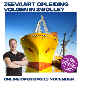 Online open avond | zeevaart Zwolle