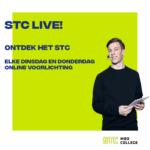 Wekelijks live mbo-voorlichtingen