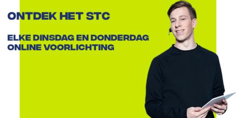 Wekelijks live mbo-voorlichting | STC mbo college