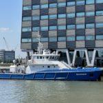 Nieuw opleidingsschip 'Stormmeeuw' voor zeevaartstudenten
